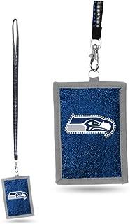 NFL Beaded Lanyard with Nylon Wallet