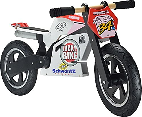 Kiddimoto Kids Hero Super Holz Balance Bike