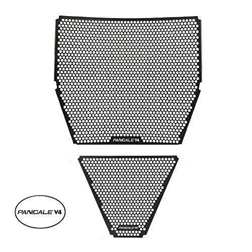 Panigale V4 Motorrad Aluminiumlegierung Kühlerabdeckung für Panigale V4 2018-2020 Panigale V4 R 2019-2020 Panigale V4 S 2018-2020 Panigale V4 S Corse 2019-2020 Panigale V4 Speciale 2018-2020
