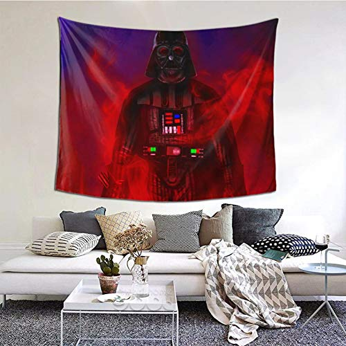 OPONEW Wall Hanging,Darth Vader Tapestry with Art Nature Home Decorations Flags Poster Dorm Decor for Living Room Bedroom (51x60 Inches)