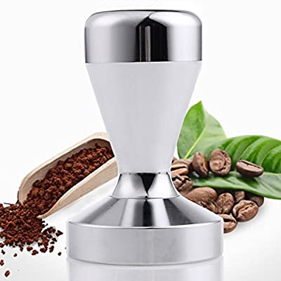Ambox Stainless Steel Coffee Tamper Barista Espresso Tamper 51mm Base Coffee Bean Press from Ambox