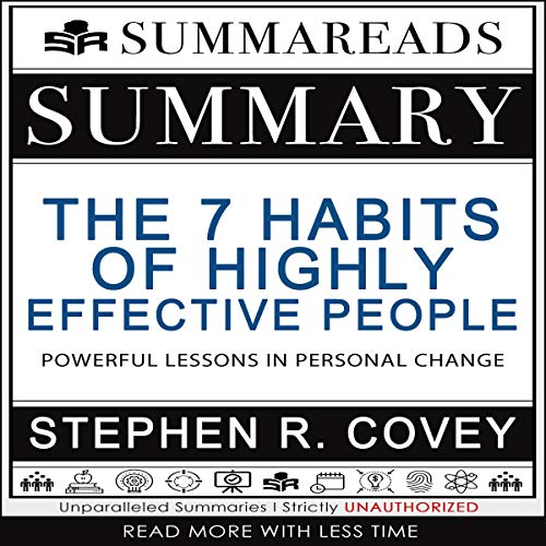 Summary of The 7 Habits of Highly Effective People audiobook cover art