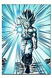 Anime dibujos animados Manga Dragon Ball Super Saiyan transformar músculo Goku Break Out lienzo pintura pared arte cartel niño dormitorio sala de estar decoración del hogar Mural