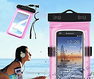 NEW! ARM BAND & Lanyard Waterproof Phone Holder (3 PIECES), Screen Works Through Case, All Smartphones, Durable, iPhones, Androids, Samsung, Galaxy, Note, Kindle, HTC