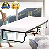 Best Folding Beds - Guest Bed Folding Bed Frame with 3 Inch Review