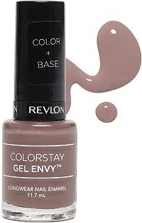 Revlon Colorstay Gel Envy Long Wear Nail Enamel, Brown 2 of A Kind, 11.7ml