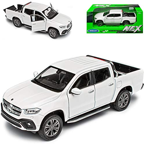 Mercedes-Benz X-Klasse Pick-Up 470 Weiss 2017-2020 1/27 1/24 Welly Modell Auto