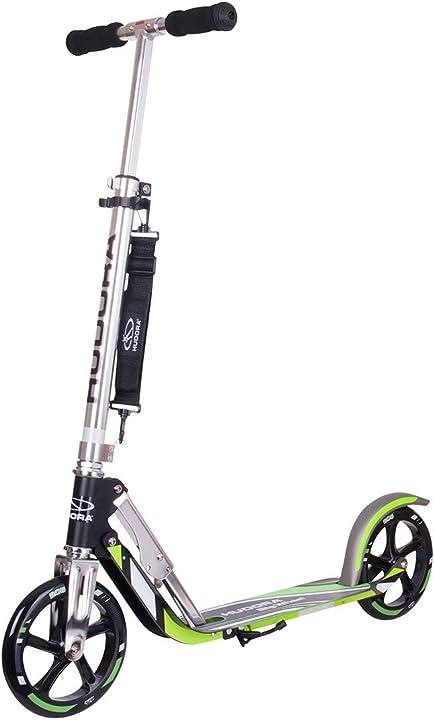 Monopattino big wheel gs 205 peso massimo: 100 kg hudora 14695 14695/02