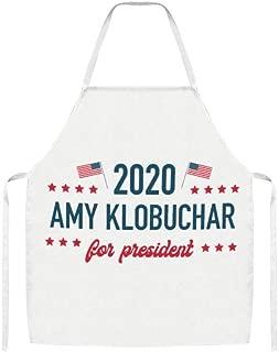 Lijiahua Amy Klobuchar for President Unisex Apron Bulk Machine Washable for Kitchen Crafting BBQ Outdoors