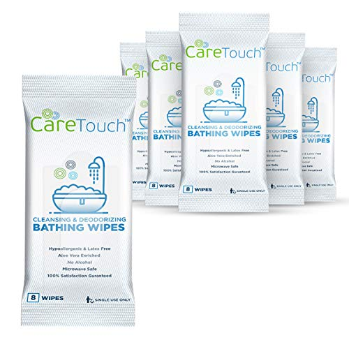 Care Touch Body Wet Wipes with Cleansing & Deodorizing Solution