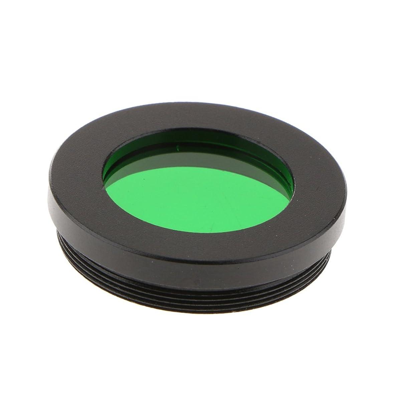 Almencla 1.25inch/31.75mm Telescope Eyepiece Lens Filter Green Color Universal