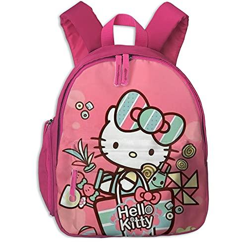 Hello Kitty - Mochila escolar para niñas, mochila grande para viajes escolares, mochilas