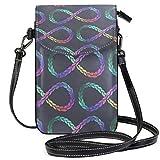 XCNGG Monedero pequeño para teléfono celular Art Cell Phone Purse Wallet for Women Girl Small Crossbody Purse Bags