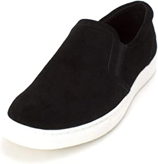 Bar III Mens Brant Leather Low Top Slip On Fashion Sneakers US