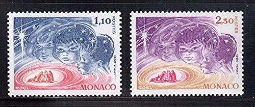 FGNDGEQN Colección de Sellos Monaco 1980 Sello de Navidad 2