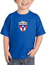 Puerto Rico - Country Soccer Crest Infant/Toddler Cotton Jersey T-Shirt