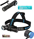 Olight H2R 2300 Lumen LED Rechargeable Flashlight H1R upgrade version,...