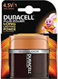 Duracell 4.5V Plus Power- Pila Alcalina, Negro
