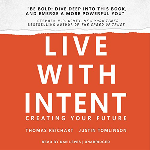 Live with Intent audiobook cover art
