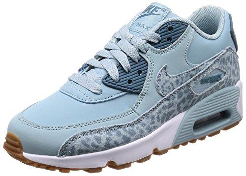 Nike Air MAX 90 LTR (GS), Zapatillas Unisex Adulto, Azul (Ocean Bliss/Noise Aqua-White-Gum Light Brown 400), 36.5 EU