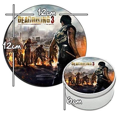 MasTazas Dead Rising 3 A Runde Metalldose aus Zinn Round Metal Tin Box
