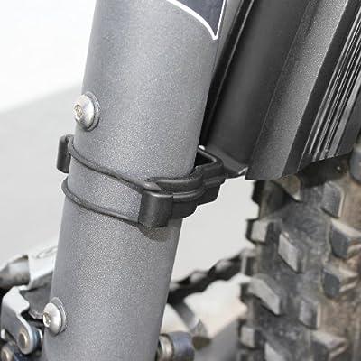 Black 47//55//65 mm SKS 11020 Velo Mudguard Set 26 Inch