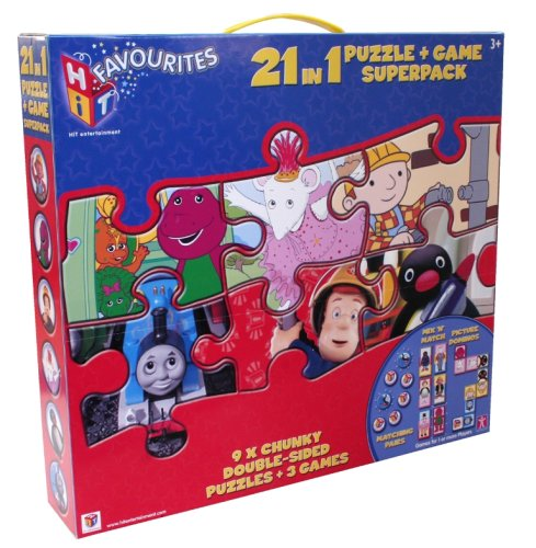 Character Options Hit con Licencia 21en 1(3x 8/3x 16/3x 42Doble Cara Puzzles/1x Mix & Match/1x Juego Pares/1x Imagen dominó)