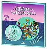 moses. 38077 Glitzernder Glitzer-Wasserball | Kinder-Spielball für Strand und Schwimmbad | 40 cm Durchmesser, durchsichtig - 3