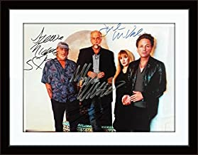 Framed Fleetwood Mac Photo Autograph with Certificate of Authenticity