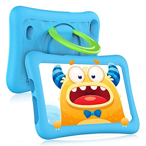 VANKYO MatrixPad Z1 Kids Tablet 7 inch, Android 10 Go, 32GB ROM, COPPA Certified KIDOZ& Google Play Pre-Installed with Kid-Proof Case, Wi-Fi, Eye Health Mode, Blue