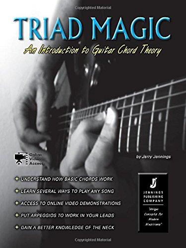 Triad Magic - An Introduction to Guitar Chord Theory (Book/Online Videos)