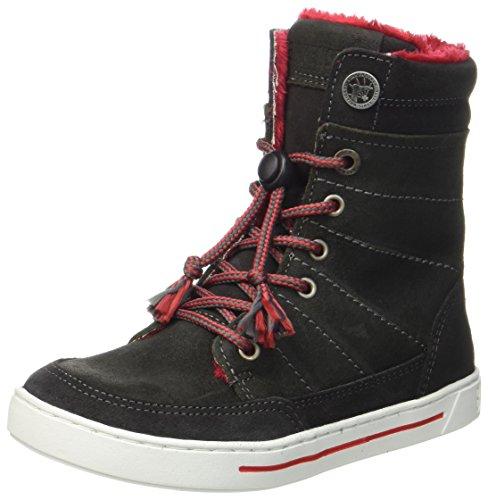 BIRKENSTOCK Shoes Mädchen Currow Stiefel, Grau (Asphalt), 29 EU