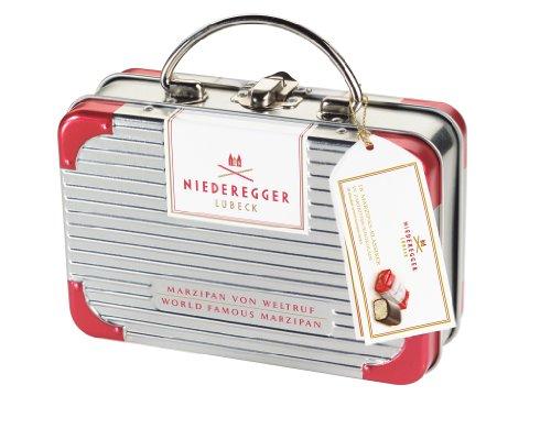Niederegger Reise-Koffer gefüllt. mit Marzipan Klassiker, 1er Pack (1 x 200 g)