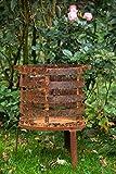 KUHEIGA Feuerkorb/Feuerschale Höhe 61cm - Rost