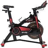 CARE FITNESS - Vélo Droit d'Intérieur Spibike SP-490 - Vélo d'appartement - Confortable et...