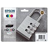 Epson C13T35864010 (35) Cartuccia di inchiostro multi pack, 16,1ml + 3x9,1ml, confezione da 4
