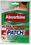 Absorbine Jr. Ultra Strength Pain Relief Patch, Large, 3 Piece