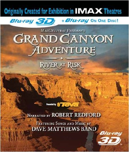 IMAX - Grand Canyon Adventures-River At Risk 3D (Blu-ray 3D)
