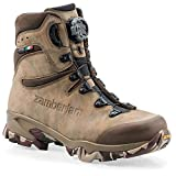 Zamberlan 4014 Lynx Mid GTX RR BOA Hunting Boots Nubuck Leather Brown Men's.