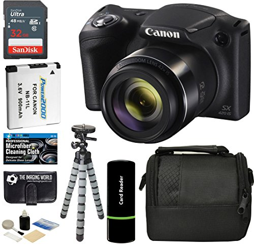 Canon PowerShot SX420 Digital Camera Kit