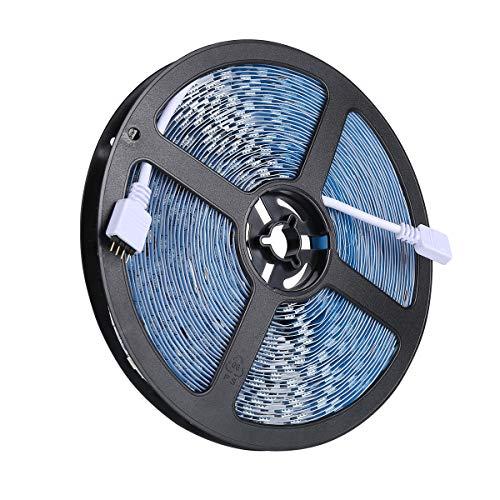 ALED LIGHT LED Strip RGB 5M SMD 5050 150 LEDs Wasserdichtes IP65 LED Streifen, LED Band, LED Stripes Lichtband Leiste Band Beleuchtung, OHNE Netzteil und Controller, nur Eine Streifen Rolle