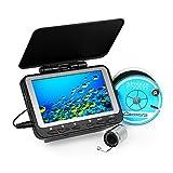 Lixada Fischfinder Unterwasser Eisfischen Kamera 4,3 'LCD Monitor 8 Infrarot IR LED Nachtsicht...