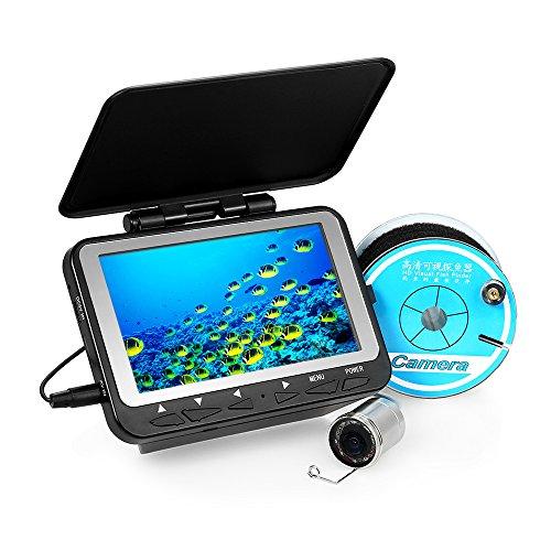 Lixada Fischfinder Unterwasser Eisfischen Kamera 4,3