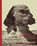 Notebook: Sphinx and Pyramids; Félix Bonfils (French, 1831 - 1885); Thebes, Egypt; 1872