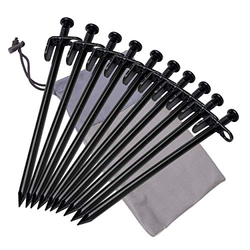 TRIWONDER Steel Stake