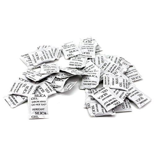 HuaYang Pack de 50 bolsitas de Gel de sílice desecante
