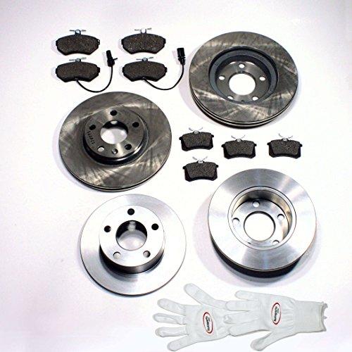 Autoparts-Online Set 60003497 Bremsscheiben 1LZ 1ZJ / Bremsen + Bremsbeläge für vorne + hinten
