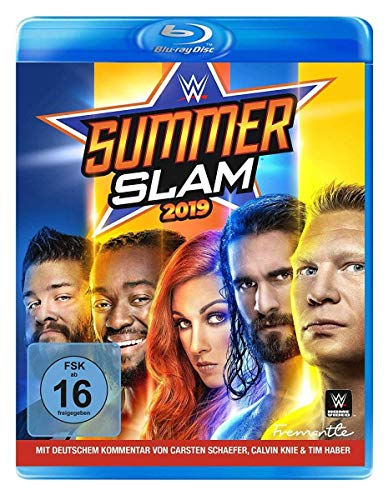 WWE: SummerSlam 2019 [Blu-ray]