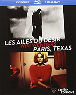 Wim Wenders-Les Ailes du désir + Paris, Texas [Blu-Ray] (B00579EL3G) | Amazon price tracker / tracking, Amazon price history charts, Amazon price watches, Amazon price drop alerts