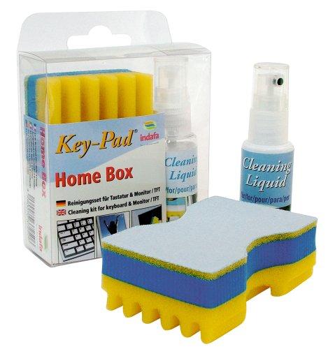 Preisvergleich Produktbild Key-Pad Home-Box / Reinigungsset für PC-Tastatur und Monitor (TFT / LCD-Bildschirme)